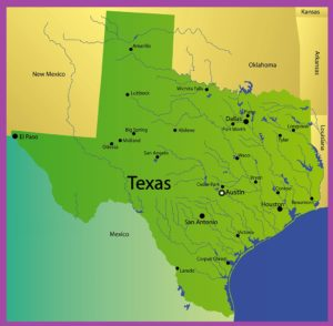Texas Rivers Map | Large Printable High Resolution and Standard Map