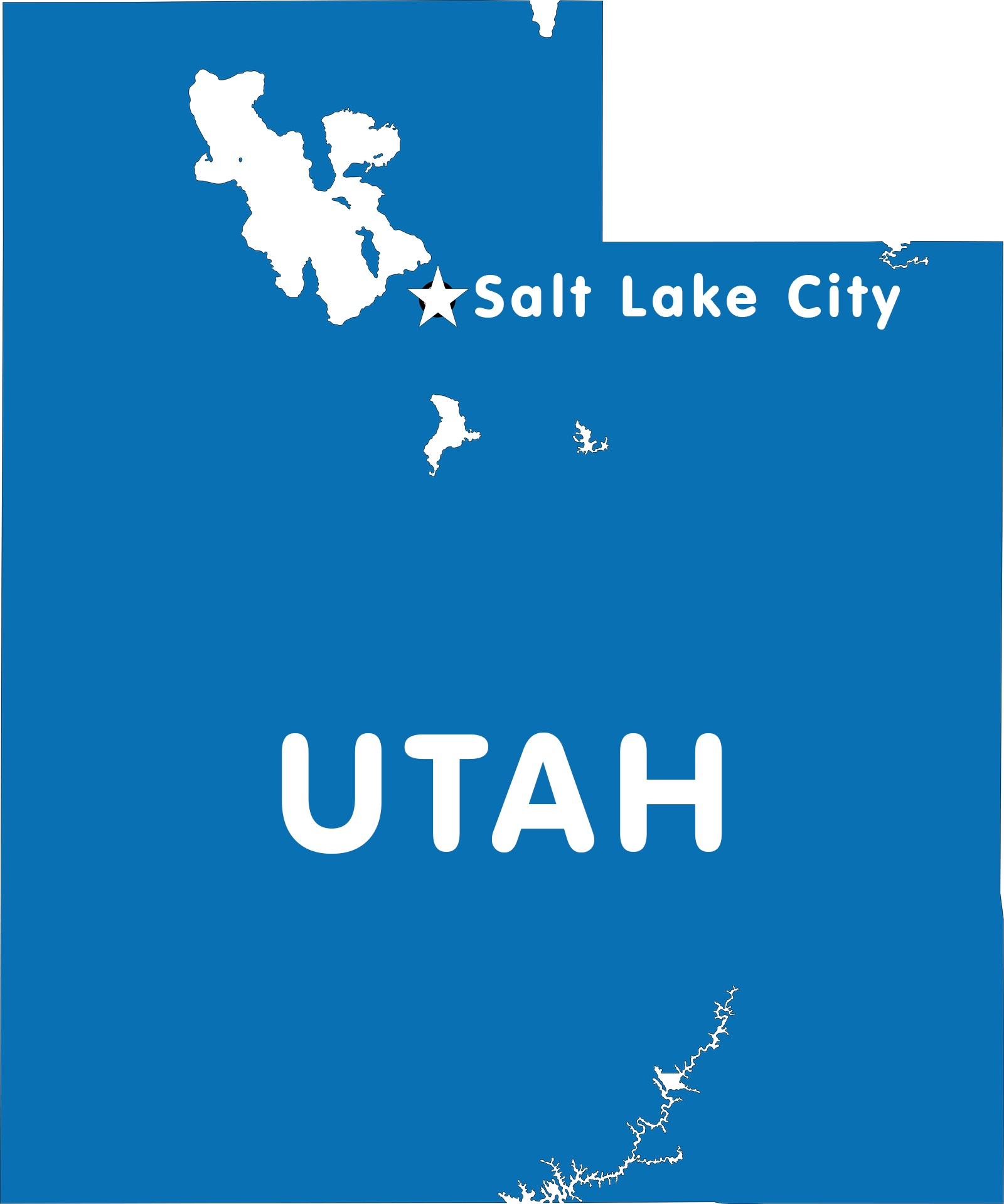 Utah Capital Map | Large Printable High Resolution and Standard Map