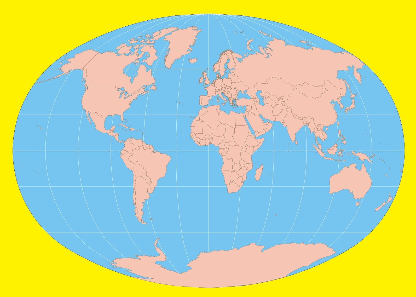Blank World Map | Large Printable World Map