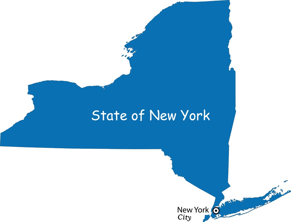 Map of New York | Political, County, Geography, Transportation, And Cities Map