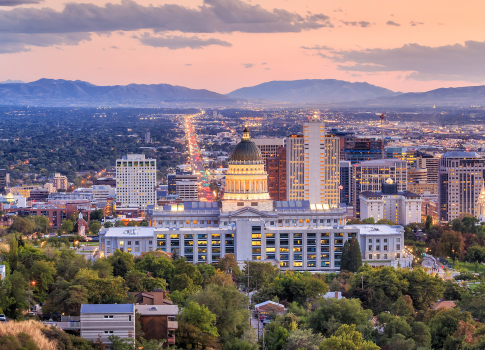 The Five Most Populated Cities In Utah