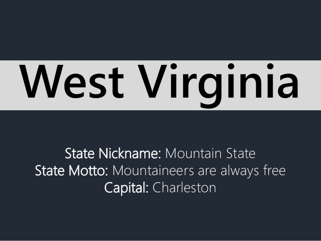 State Motto Of West Virginia