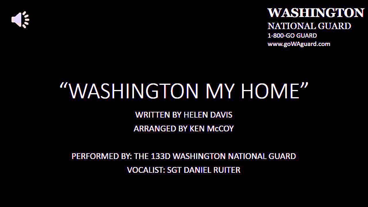 State Song Of Washington