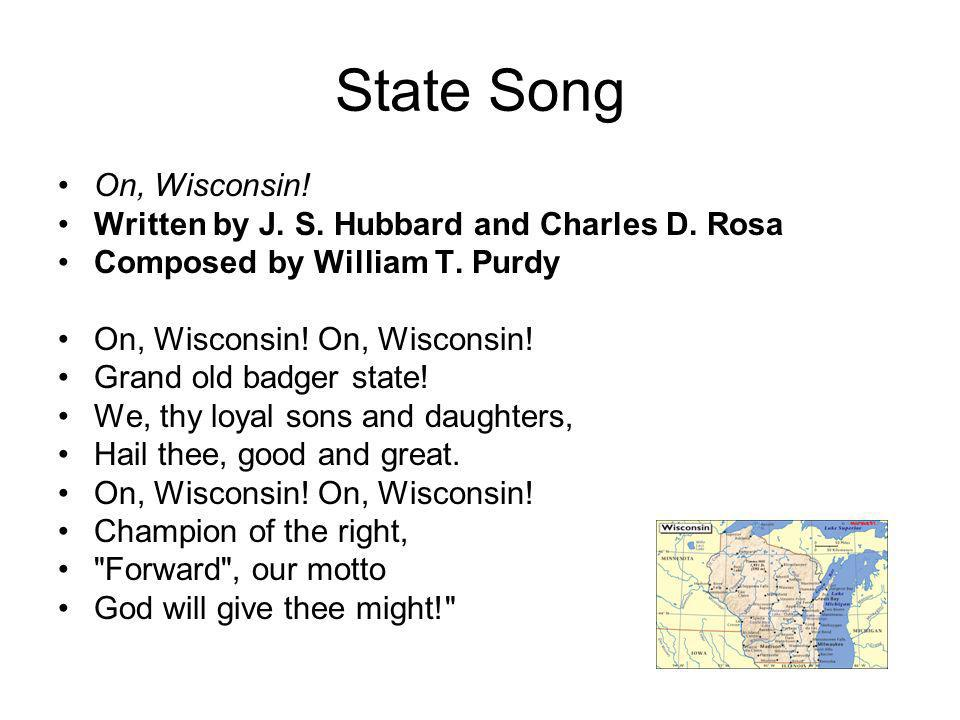 State Song Of Wisconsin