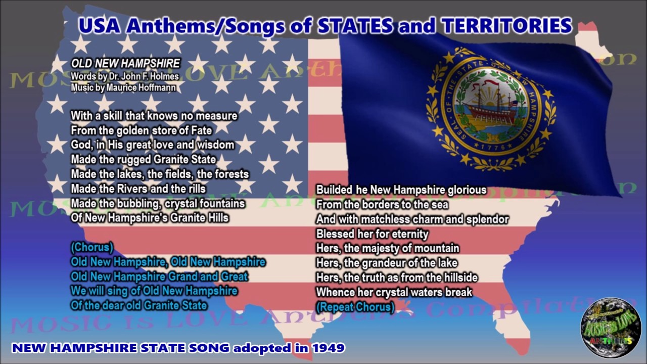 State Song Of New Hampshire