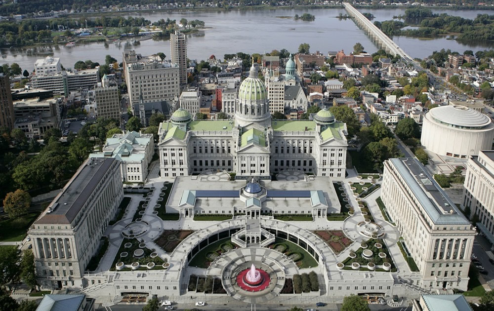 State Capital Of Pennsylvania