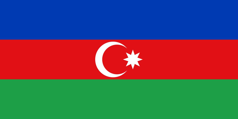 National Flag Of Azerbaijan