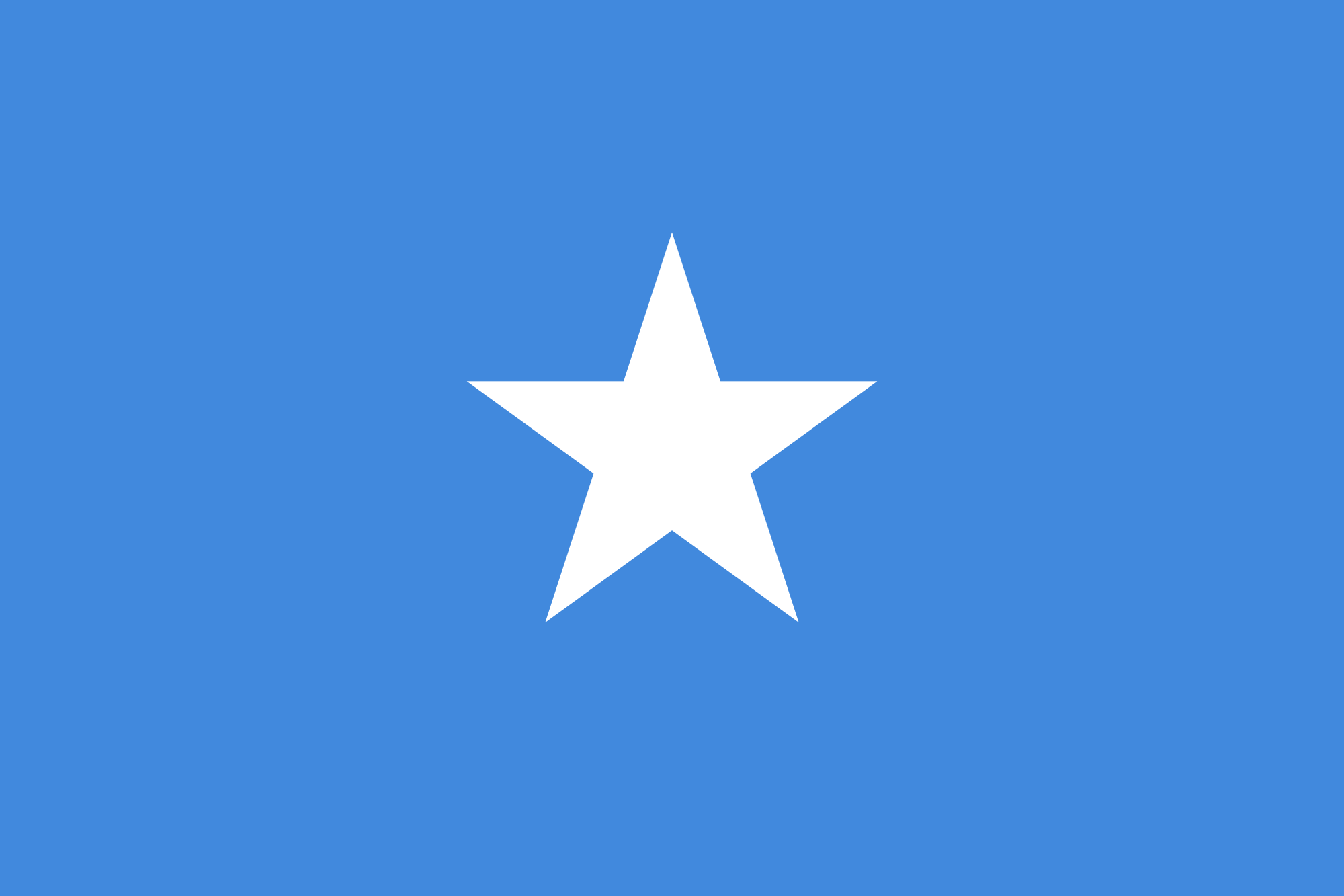 National Flag Of Somalia
