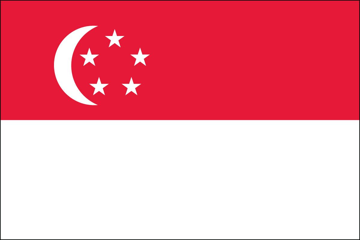 National Flag Of Singapore