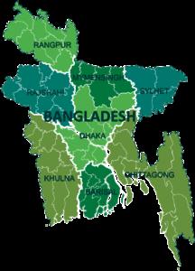 Map of Bangladesh   Printable Large Attractive HD Map