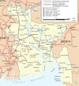 Railway Map Of Bangladesh   Bangladesh Railway Route Map
