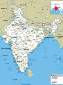 Road Map of India | Indian Road Network Map