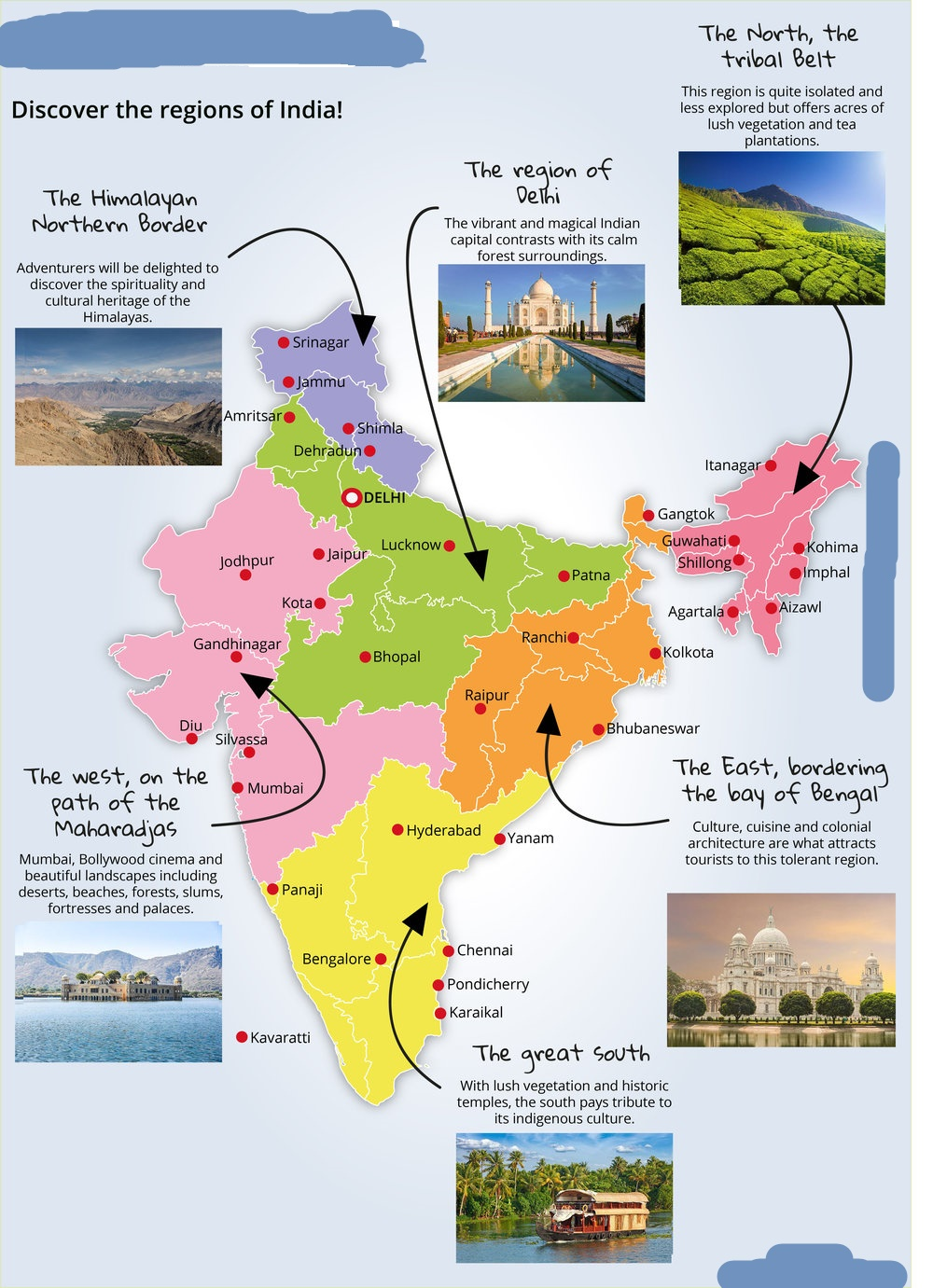 40 Best Tourist Attraction Places To Visit In India