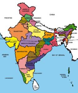 State Map of India | State Map With Cities