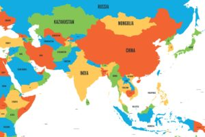 Map of Asia | Printable Large Attractive HD Map of Asia With Country Names