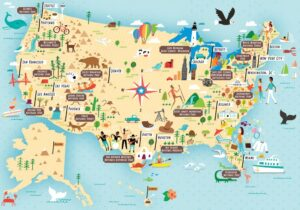 National Parks Map of USA | Best US Park List
