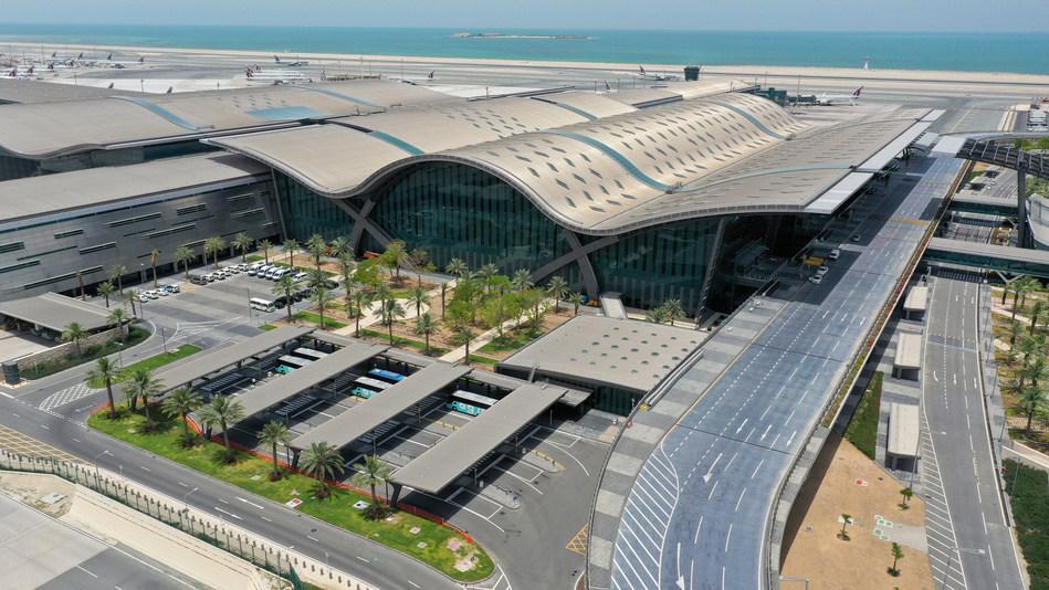 Airport Map of Qatar   Qatar Airport Guide Map