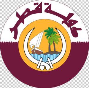 National Coat of Arms of Qatar   Symbols of Qatar