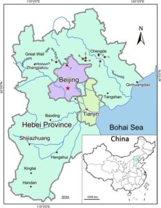 Map of Hebei Province | Political, Outline, Geography And Transportation Map