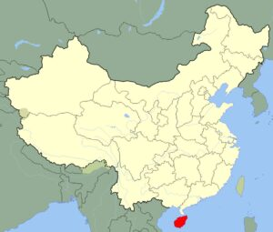 Map of Hainan Province | Political, Geography, Transportation And Cities Map