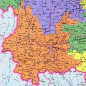 Map of Yunnan Province | Political, Geography And Transportation Map